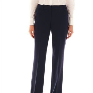 Modern fit navy Worthington trousers size 18 work